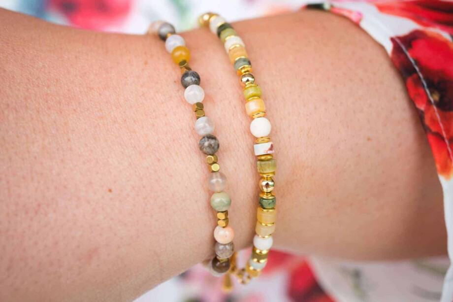 Handgemaakte natuurstenen Armbanden