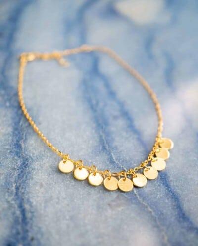 Gouden-Armband-'Confetti' van Goud op Zilver