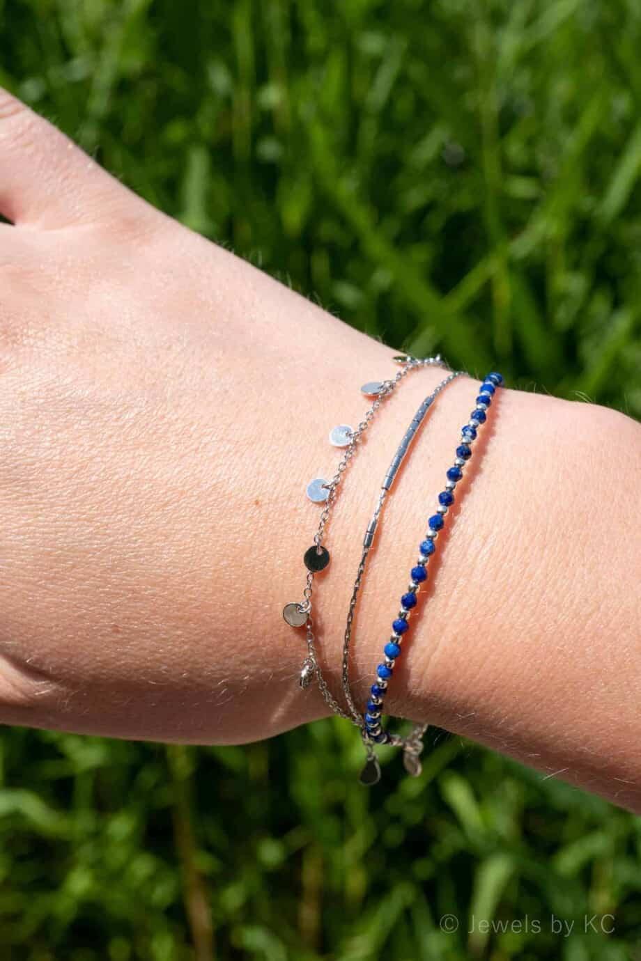 Armbanden Sterling Zilver Lapis Lazuli edelstenen