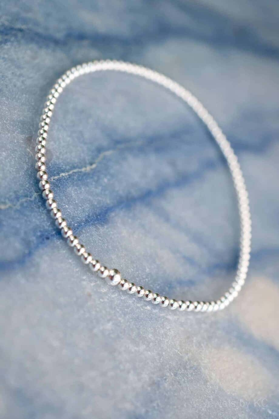 Armband Silver Beads Sterling Zilver