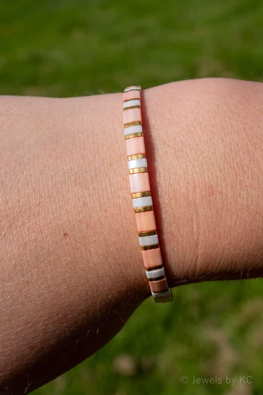 Armband Miyuki Pastel Pink