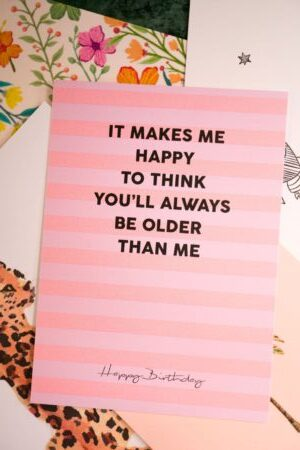 Card 'Happy Birthday'