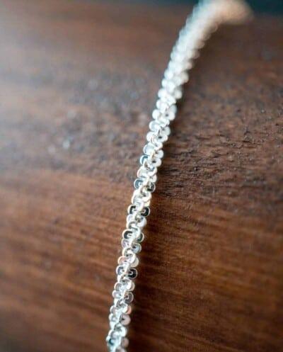 Zilveren Armband 'Glamour' van Sterling Zilver