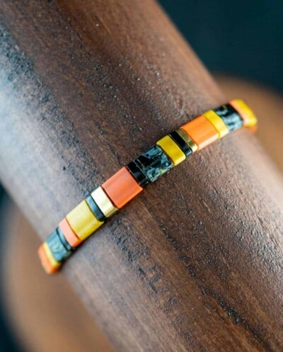Handgemaakte Miyuki Tila armband