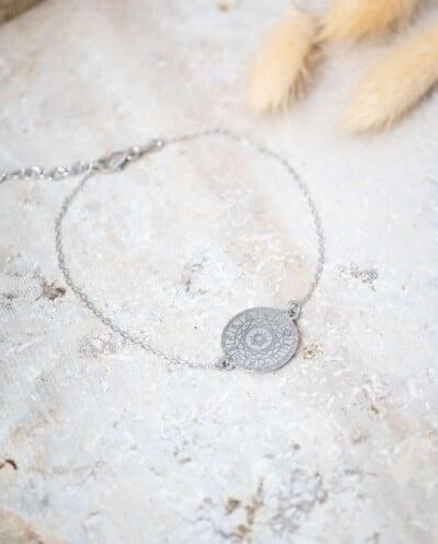 Zilver horoscoop armband van Sterling Zilver